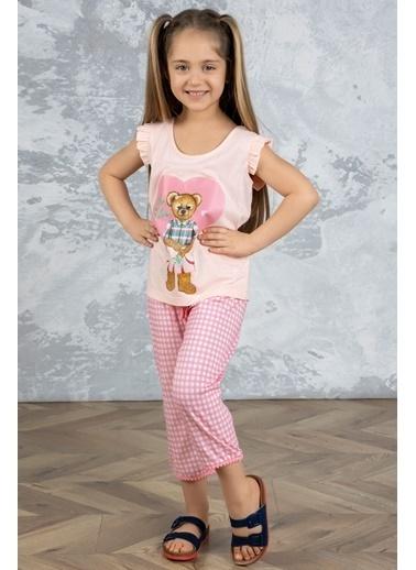 Katia & Bony Teddy Bear Kız Çocuk Pijama Takımı - Pembe Pembe